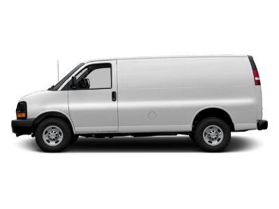 2017 Chevrolet Express Cargo Van (Summit White)