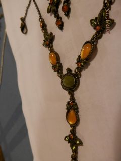 FALL / WINTER COLOR NECKLACE & EARRINGS