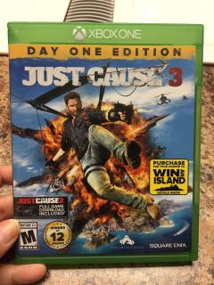 Xbox One Just Cause 3 Day One Edition