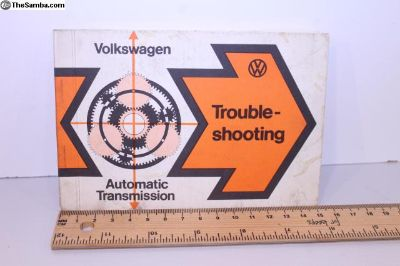 Automatic Transmission Trouble Shooting Booklet