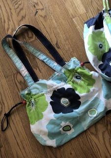 Thirty-One brand draw string tote