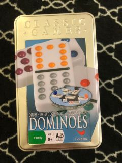 dominoes mexican train set