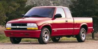 2002 Chevrolet S-10 LS (Light Pewter Metallic)