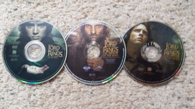 Lord of the Rings Dvds