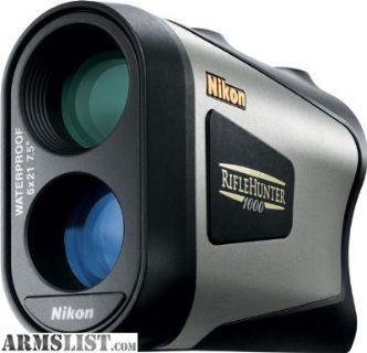 For Sale: Nikon Riflehunter 1000 Laser Rangefinder