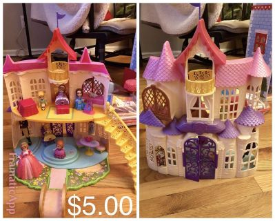Sofia the 1st talking Doll House with Dolls and accessories