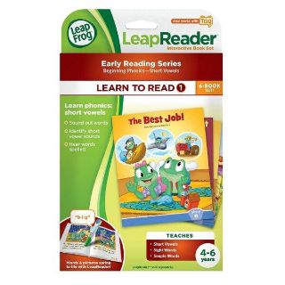 LeapFrog LeapReader Learn to Read, Volume 1 (works with Tag) Short Vowels