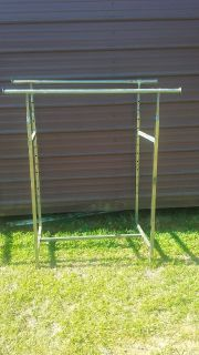 Two Clothing Racks for Yard Sales