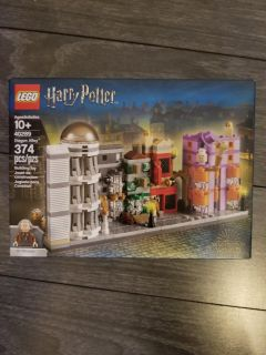 New Lego Harry Potter Diagon Alley