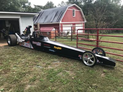 Ed Quay Fully Suspended Dragster
