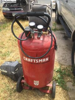 Craftsman 33 gallon air compressor