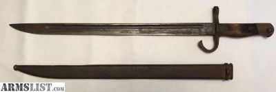 For Sale: WWII Japanese Bayonet with metal scabbard