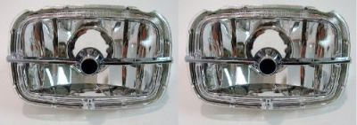 Buy 78-81 CAMARO CORRECT Z28 PARK PARKING LIGHTS LAMPS NEW SET WITH CHROME BAR! motorcycle in Richmond, Kentucky, United States, for US $109.95