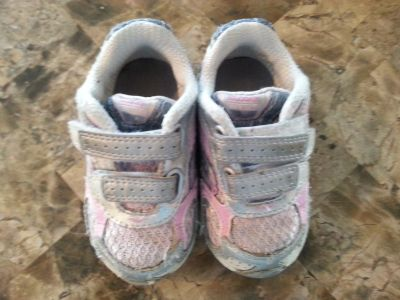 Saucony gym shoes- toddler size 5w (wide)