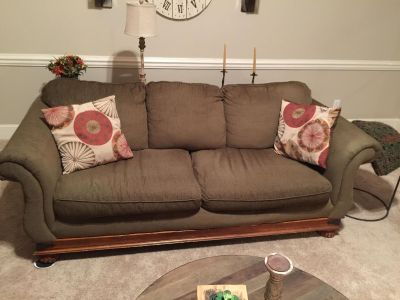 Sofa and matching LoveSeat with ottoman