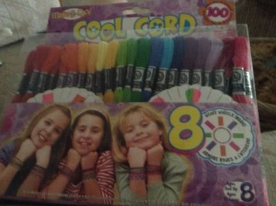 COOL CORD Freindship Party Pack Makes over 100 Bracelets New Sealed