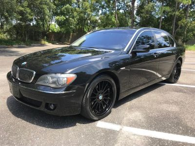 2007 BMW 7-Series 750Li (Black)
