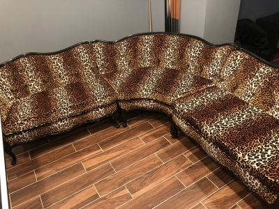 Antique sectional