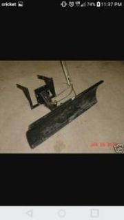 craftsman snow plow