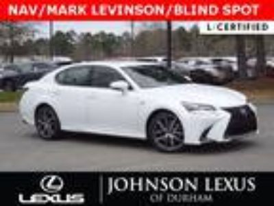 2018 Lexus GS 350 F SPORT NAV/MARK LEVINSON/SAFETY SYSTEM+