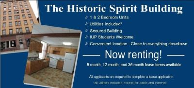 NOW RENTING 1 - 2 BEDROOM APARTMENTS