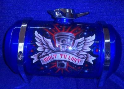 Buy fuelies spun aluminum custom gas tanks 8x12 or 8x16 motorcycle in Hutchinson, Kansas, United States, for US $420.00