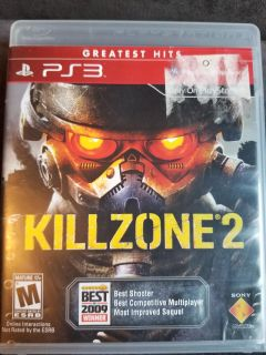 Kill Zone 2 for the Playstation 3 PS3