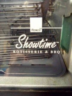 Showtime rotisserie grill