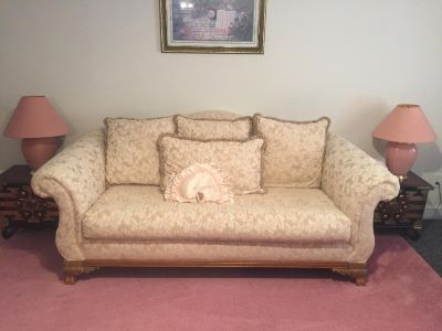 Full Size Couch With Matching Loveseat