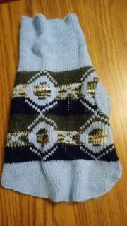 Dog Sweater Size Small 10lbs