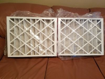 "16"" x 20"" x 4"" HVAC Air Filters (2 pack)"