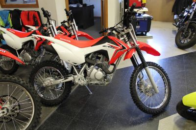 2018 Honda CRF125F (Big Wheel) Competition/Off Road Motorcycles Adams, MA
