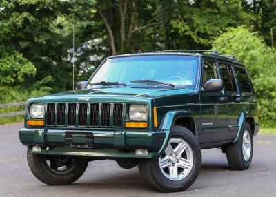 2001 Jeep Cherokee Limited Rare Leather Automatic