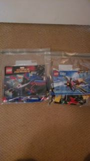 2 small Lego sets in bags