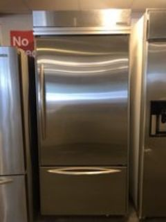 38 inch stainless refrigerator