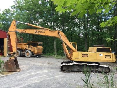 1975 American 35 excavator for sale in Ghente, NY.