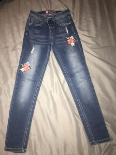 Cute girl jeans size 7