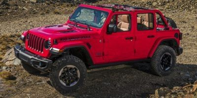 2019 Jeep Wrangler Unlimited Rubicon 4x4 (Firecracker Red Clearcoat)