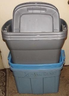 Selling as a Lot - 5 Used Totes