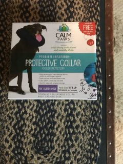 Protective dog donut collar