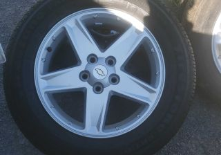 FIRESTONE Tires on Chevy rims
