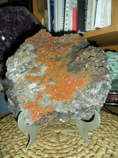 Exceptional and Beautiful Rare Vanadinite Crystals {Exceptional Massive Size}