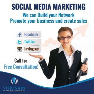 Social Media Marketing Agency Miami, FL   Visionary Solutions Inc