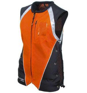 Purchase Womens Ladies Joe Rocket Orange Military Spec Vest Xs Sm Md motorcycle in Ashton, Illinois, US, for US $49.49
