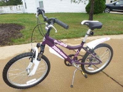 $130 Girl's 20-inch 6-speed Novaro Pixie Mountain Bike