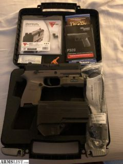 For Sale: Sig P320C 9mm with Trijicon HD Night Sights and InForce APL