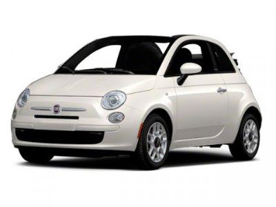 2012 Fiat 500C Pop (Bianco (White))