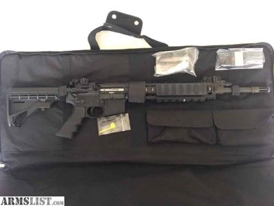 For Sale: Ruger SR556 Piston AR15 Rifle Troy Sights like New