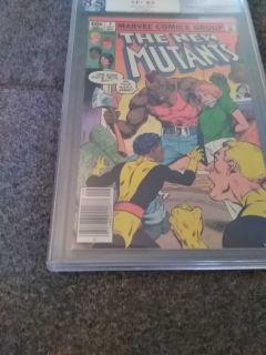 New Mutants #7 Set 1983 PGX 8.5