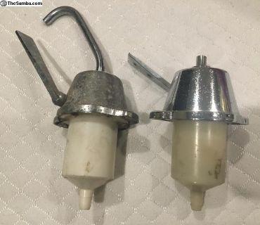 Pair of Westfalia Pump Sink Faucets